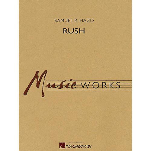 Hal Leonard Rush Concert Band Level 5 Composed by Samuel R. Hazo