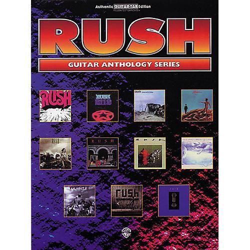 Hal Leonard Rush Guitar Anthology Guitar Tab Book