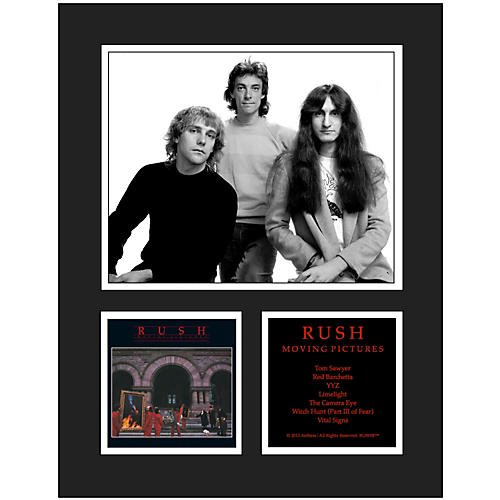 Mounted Memories Rush Moving Pictures 11x14 Matted Photo