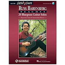 Homespun Russ Barenberg Teaches 20 Bluegrass Guitar Solos (Book/Online Audio)
