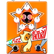 ZVex Russian Fuzz Factory 7 Fuzz Effects Pedal