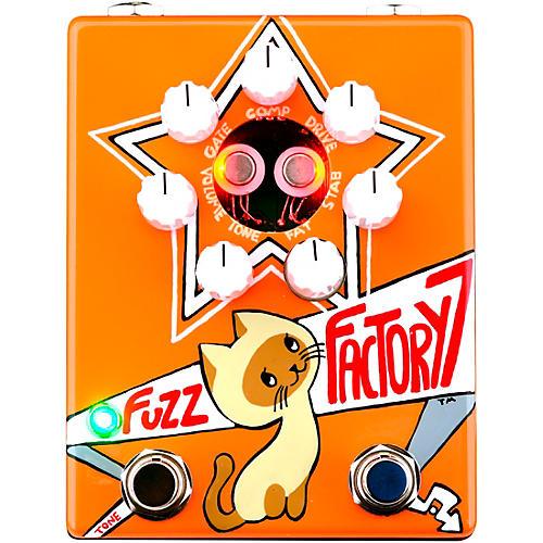 ZVex Russian Fuzz Factory 7 Fuzz Effects Pedal