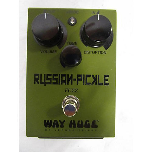 Way Huge Electronics Russian Pickle Effect Pedal