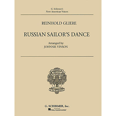 G. Schirmer Russian Sailor's Dance Marching Band Level 2 Composed by Reinhold Gliere Arranged by Johnnie Vinson