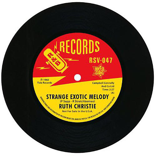 Alliance Ruth Christie - Strange Exotic Melody/This Must Be Love