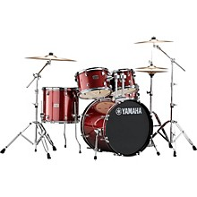 Rydeen 5-Piece Shell Pack with 20 in. Bass Drum Burgundy Glitter