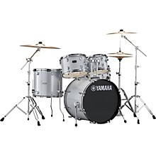 Rydeen 5-Piece Shell Pack with 20 in. Bass Drum Silver Glitter