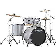 Rydeen 5-Piece Shell Pack with 22 in. Bass Drum Silver Glitter