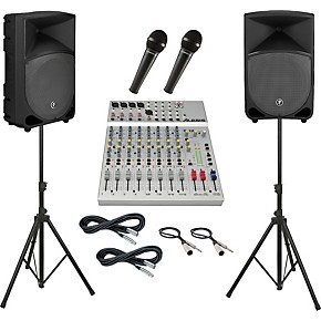 alesis s 12 mackie thump th 12a pa package musician 39 s friend. Black Bedroom Furniture Sets. Home Design Ideas