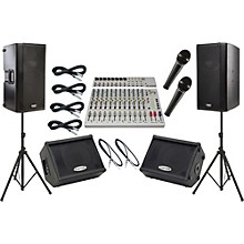 Alesis S-16 / QSC K12 Mains and Monitors Package
