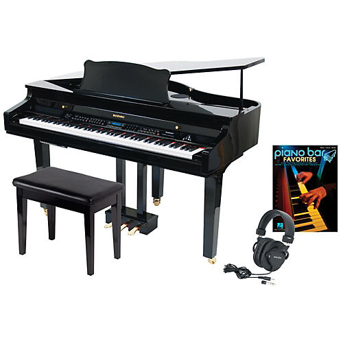 Suzuki S-350 Mini Grand Digital Piano Package