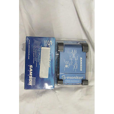 Samson S Monitor Head Phone Amp Headphone Amp