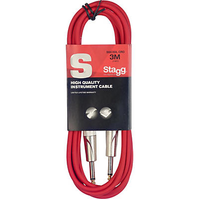 Stagg S-Series Instrument Cable With Deluxe Ends