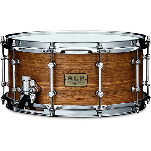 TAMA S.L.P. Bold Spotted Gum Snare Drum 14 x 6.5 in. Satin Natural Spotted Gum