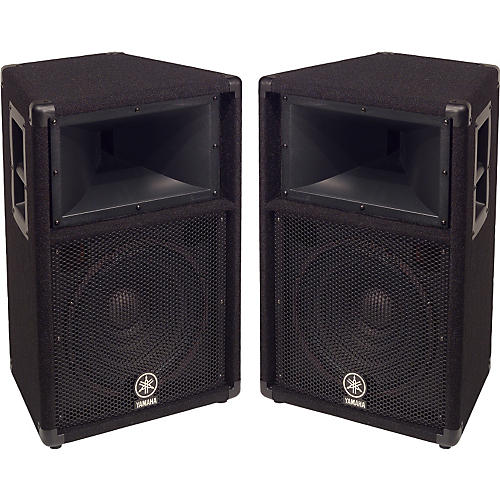 yamaha s112v 2 way 12 club series v speaker pair