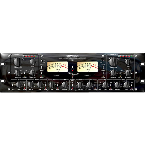 Drawmer S2 Signature Series Dual Channel Tube Compressor