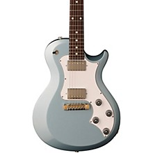S2 Singlecut Standard Electric Guitar Frost Blue Metallic White Pickguard
