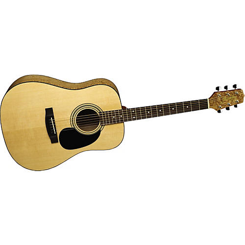 S35Q Quilted Maple Dreadnought Acoustic Guitar