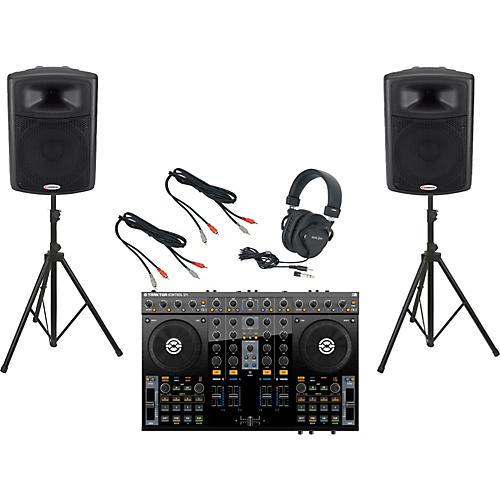 Native Instruments S4 / Harbinger APS15 DJ Package