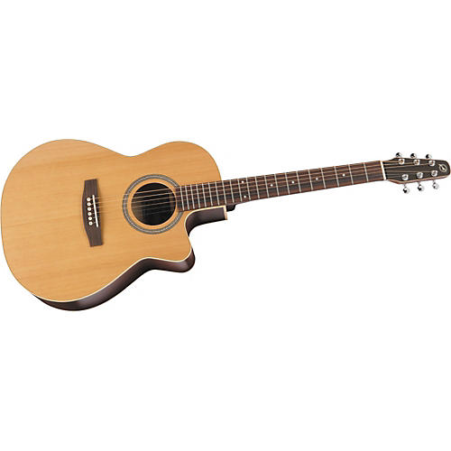 Seagull S6+ Folk Gloss Top Acoustic-Electric Guitar