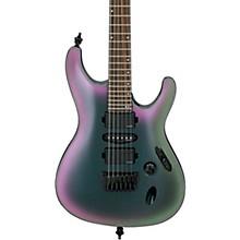 S671ALB S Axion Label 6st Electric Guitar Black Aurora Burst Gloss