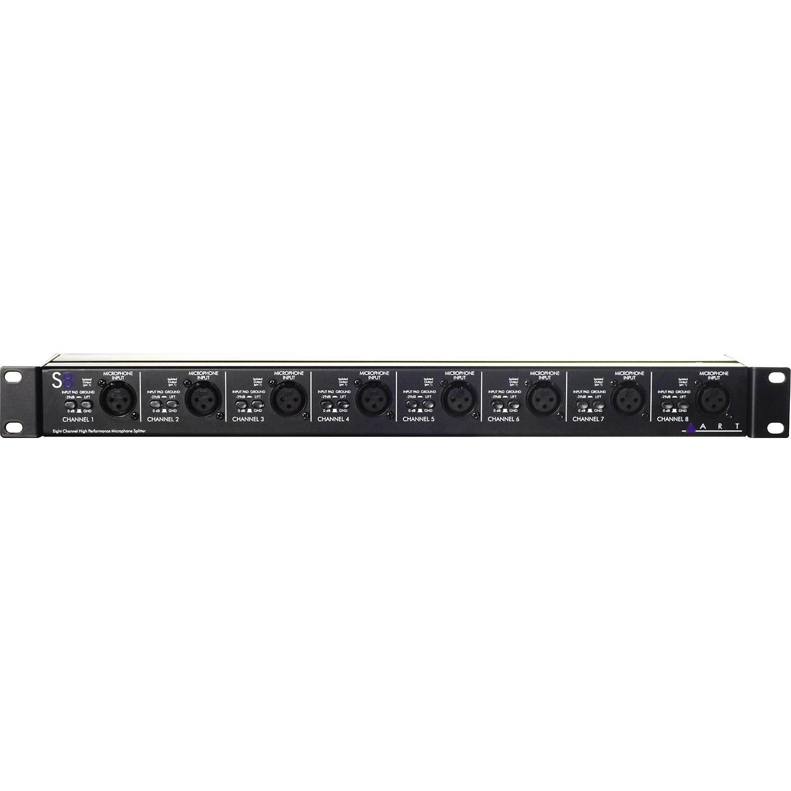 ART S8 8-Channel Balanced Mic Splitter
