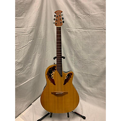 Ovation S868 Elite Special Acoustic Electric Guitar