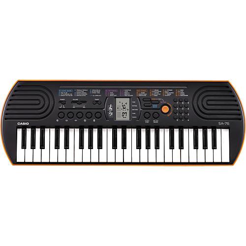 Casio SA-76 Keyboard Condition 1 - Mint Orange