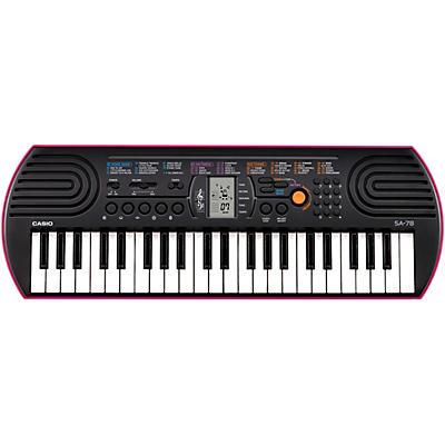 Casio SA-78 Mini-Size Keyboard