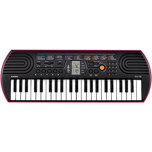 Casio SA-78 Mini-Size Keyboard Condition 1 - Mint Pink