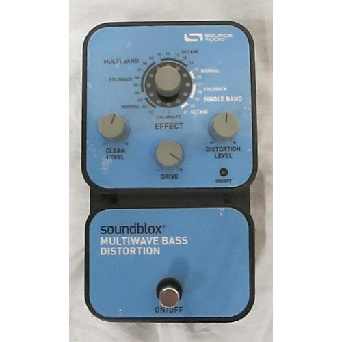 Source Audio SA125 SOUNDBLOX MULTIWAVE BASS DISTORTION Bass Effect Pedal
