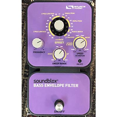 Source Audio SA126 SOUNDBLOX BASS ENVELOPE FILTER Bass Effect Pedal