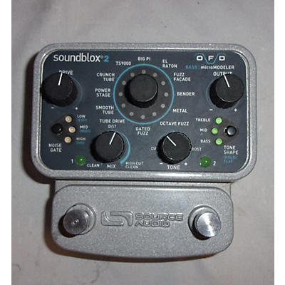 Source Audio SA143 Soundblox Pro Bass Envelope Filter Bass Effect Pedal