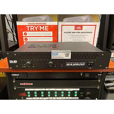 SHS Audio SA2500 Power Amp