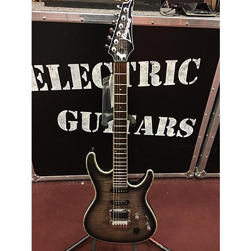 Ibanez SA360FM Solid Body Electric Guitar Trans Black