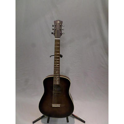 Luna Guitars SAF ART VINTAGE Acoustic Guitar