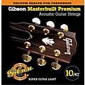 Gibson SAG-MB10 Masterbuilt Premium Phosphor Bronze Acoustic Strings thumbnail