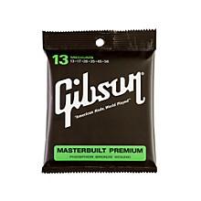 Gibson SAG-MB13 Masterbuilt Premium Phosphor Bronze Acoustic Guitar Strings