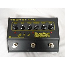 Tech 21 SANS AMP NYC Effect Pedal
