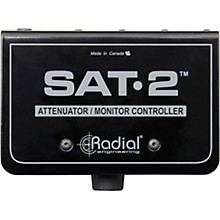 Open BoxRadial Engineering SAT-2 Stereo Audio Attenuator & Monitor Controller