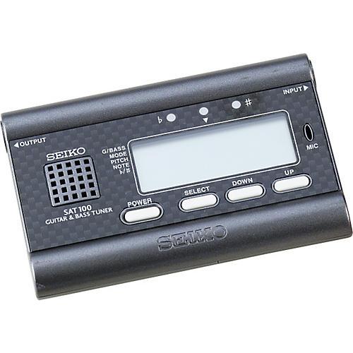 Seiko SAT100B Guitar/Bass Digital Auto Tuner