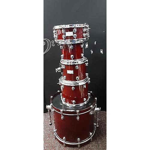 Mapex SATURN III Drum Kit Red