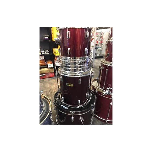 Sunlite SBK Drum Kit Wine Red