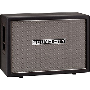 sound city sc212 140w 2x12 guitar speaker cabinet musician 39 s friend. Black Bedroom Furniture Sets. Home Design Ideas