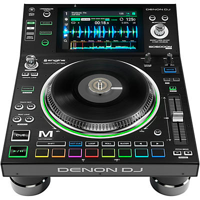 Denon DJ SC5000M Prime Professional Motorized DJ Media Player