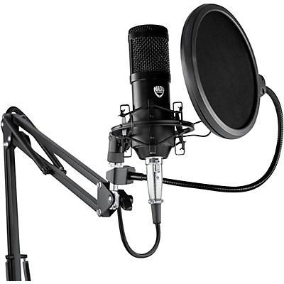 Nady SCM-707 8-Piece Studio Condenser Microphone Podcast Bundle