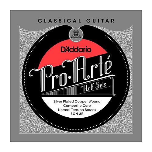 D'Addario SCN-3B Pro-Arte Normal Tension Classical Guitar Strings Half Set