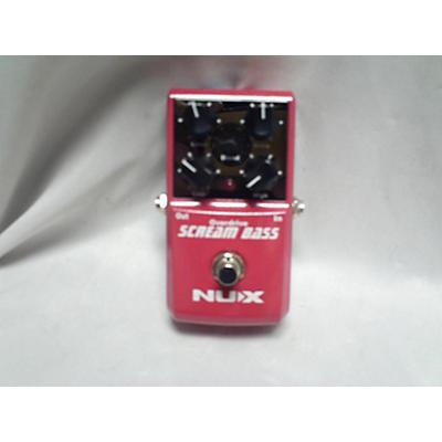 NUX SCREAM BASS Bass Effect Pedal