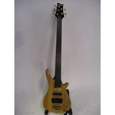 Douglas SCULPTOR 5 STRING FRETLESS Electric Bass Guitar