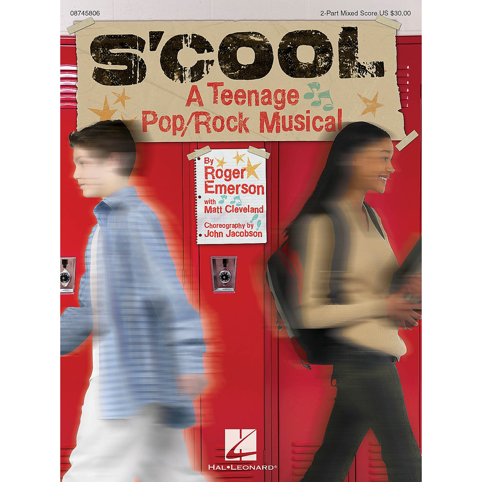 Hal Leonard S'Cool: A Teenage Pop/Rock Musical PREV CD Composed by Roger Emerson